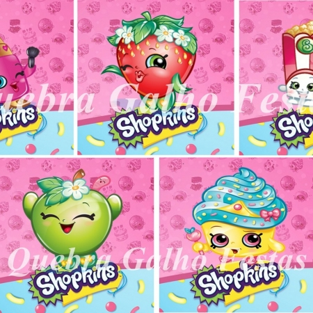adesivos shopkins rotulos shopkins