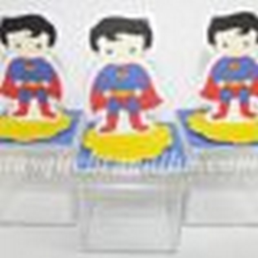 caixinha 5x5 superman cute,lembrancinhas superman cute,festas superman cute