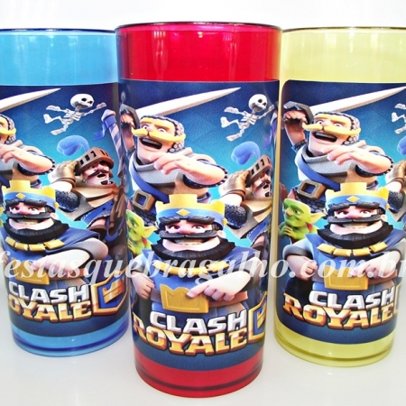copo long drink clash royale,lembrancinhas clash royale,festas clas royale