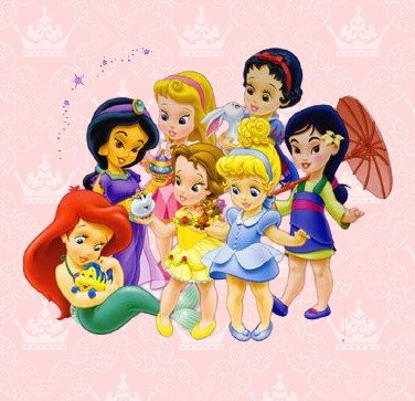 Princesas Disney Cute