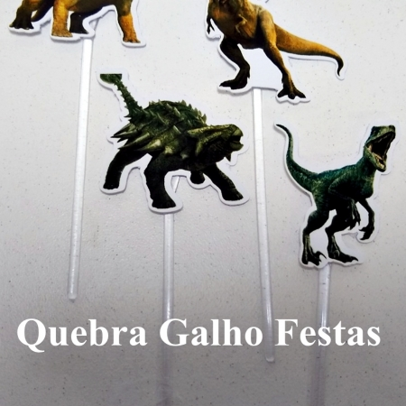 Jurassic World Topper Doce
