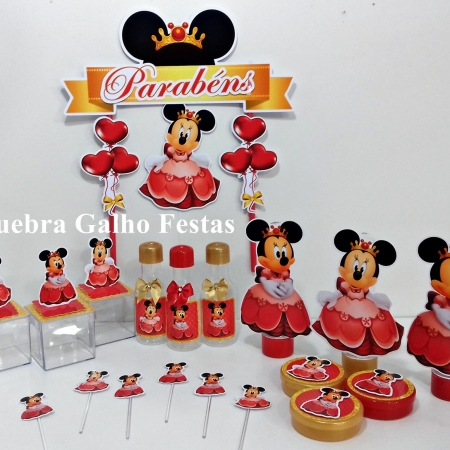 Minnie Princesa Mini Maleta