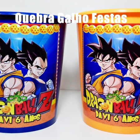 Dragon Ball Z Balde Personalizado
